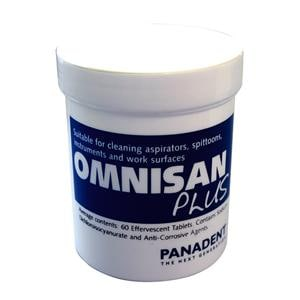 Omnisan Plus Aspirator Cleaner Tablets 60pk