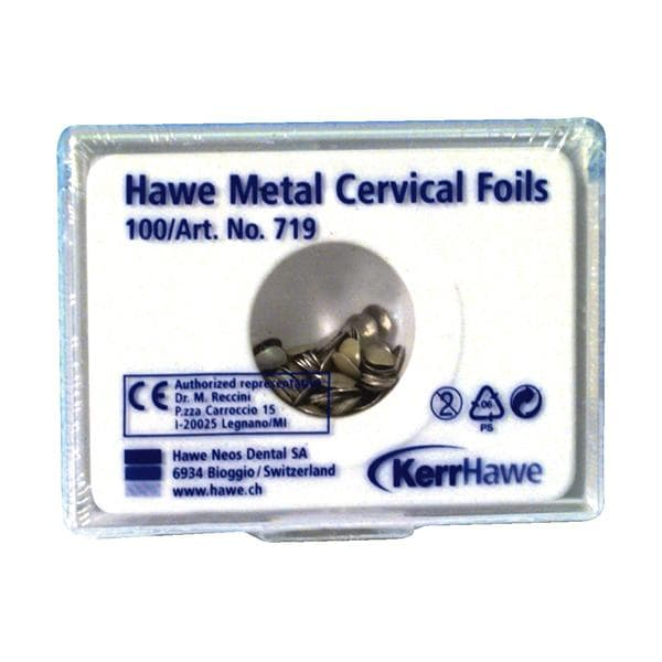 Hawe Cervical Foils Metal No 719