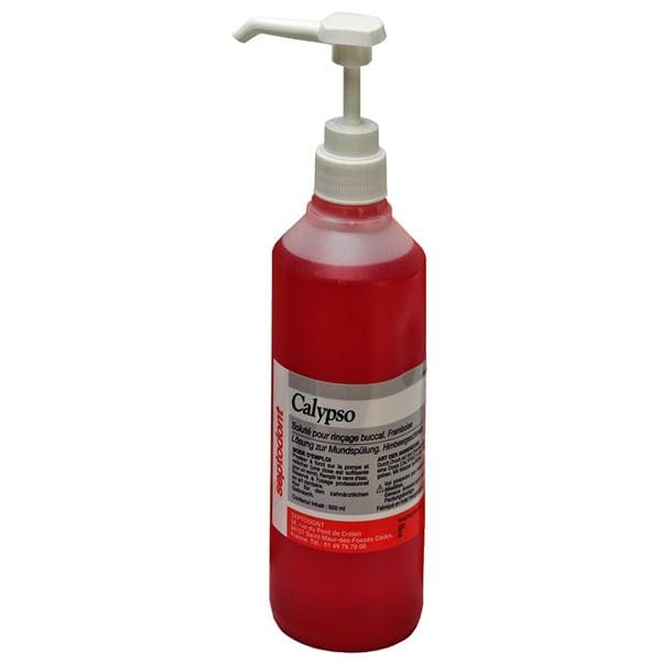Calypso Mouthwash Concentrate 500ml Raspberry 3pk
