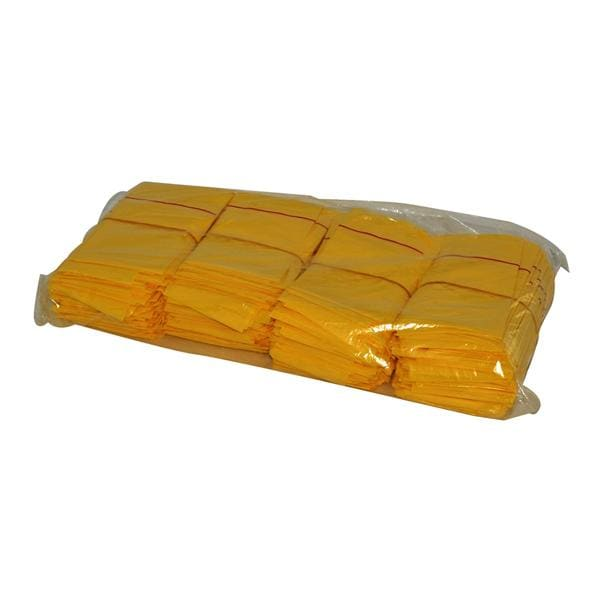 Disposable Bag Yellow 10.5 x 18 Inch 200pk
