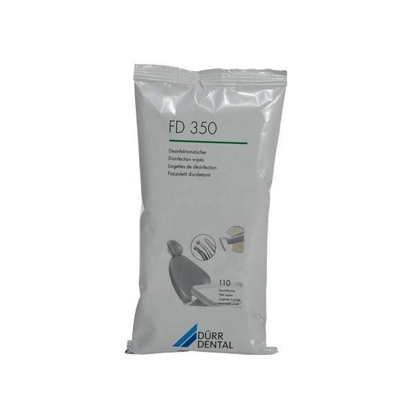 FD 350 Disinfectant Wipes Refill 110pk