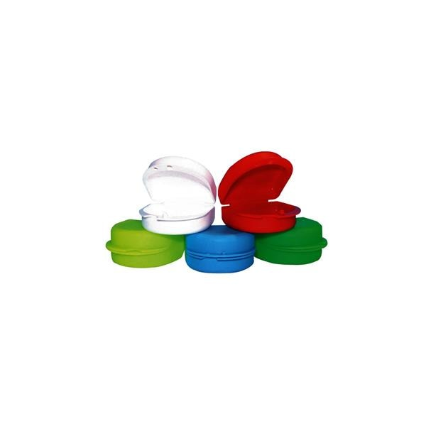 Denture Container Red 10pk