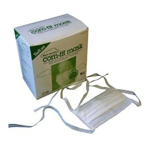 Com Fit Face Mask High Filtration Super Sensitive Ties Type II 50pk