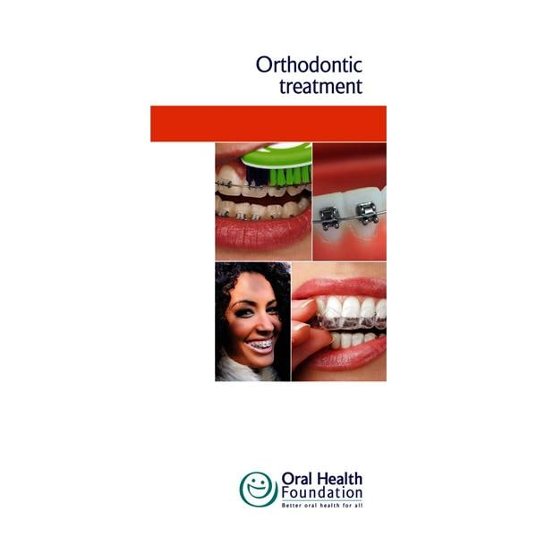 BDHF Leaflets Orthodontic Treatment 50pk