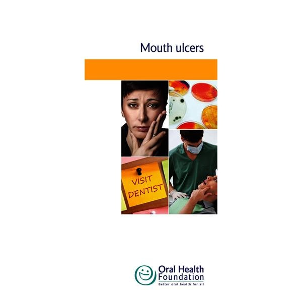 BDHF Leaflets Mouth Ulcers 100pk