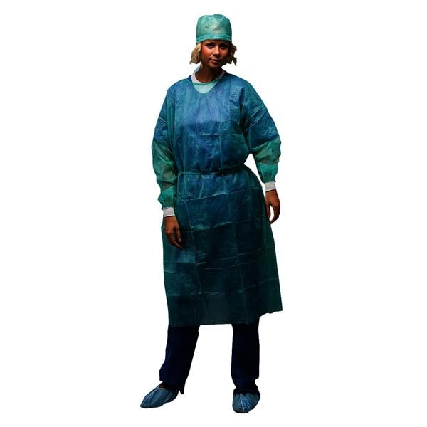 Omnia Sterile Surgical Gown With Cuff 110cm Green 50pk