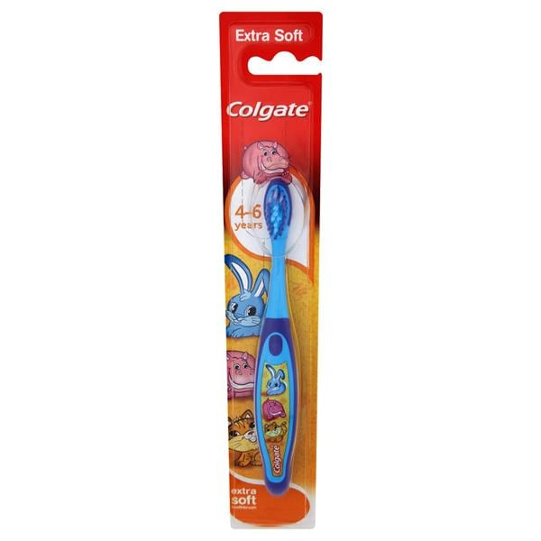 Colgate Extra Soft Toothbrush 4-6 Yrs 12pk