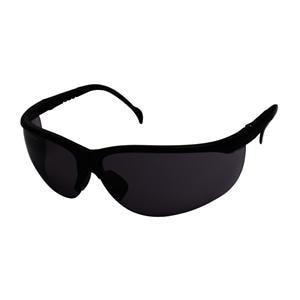 Antifog Black Safety Glasses with Adjustable Sides