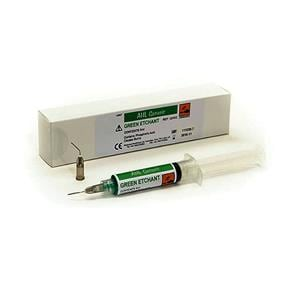 Acid Etch Gel 37% Syringe Green 12ml + 20 Tips
