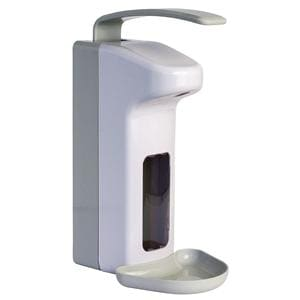 Dispenser for Hand Disinfection/Soaps 1 Litre Manual Operation  - Wall Mounted