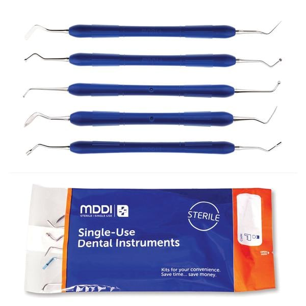 Restorative Inst Kit 5-Piece Sterile SU 60pk