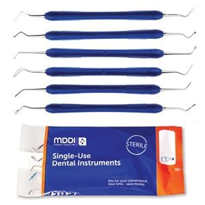 Restorative Inst Kit 6-Piece Sterile SU 50pk SI606