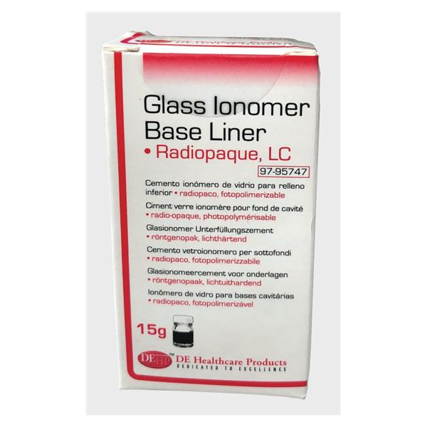 DEHP Glass Ionomer LC Baseliner Powder 15g