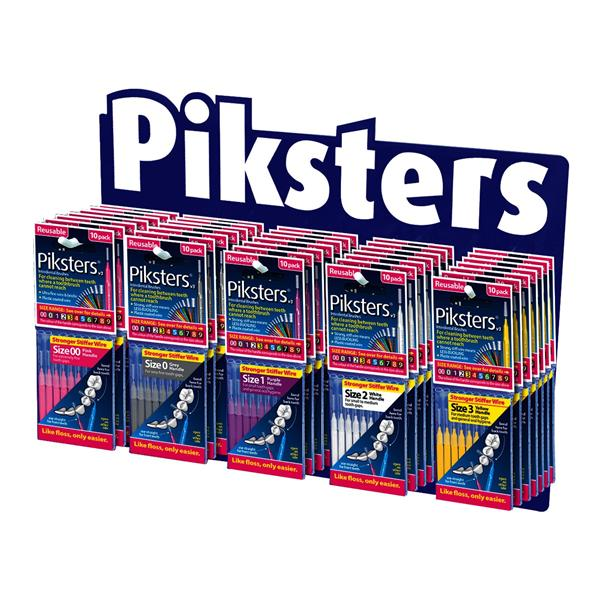 Piksters 5 SKU Stock and Stand