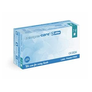 Sempercare Gloves Exam Latex PF Medium 100pk